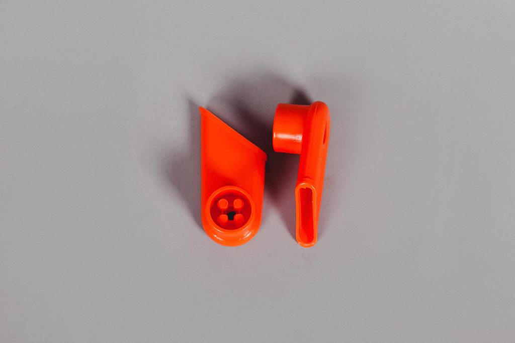 Держатель для ручки оранжевый