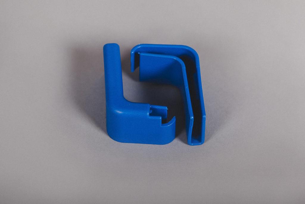 Буфер для тележки синий