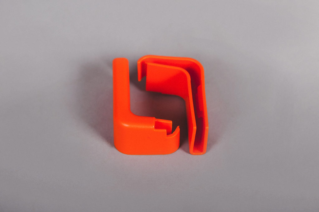Буфер для тележки оранжевый