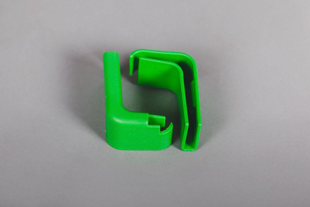 Буфер для тележки зеленый