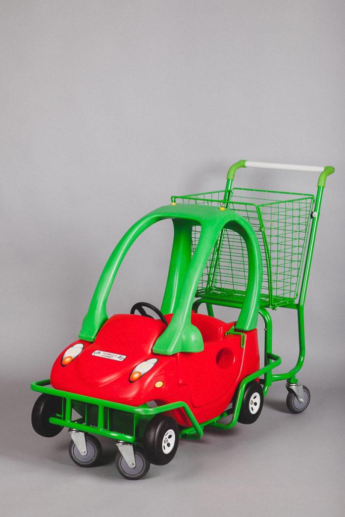Детская торговая тележка автомобиль